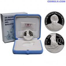 Vatican 10 Euro 2012 - 20th World Day of the Sick