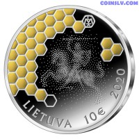 Lithuania 10 Euro 2020 - Beekeeping