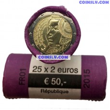 France 2015 roll 2 Euro 2010 - 225th anniversary of the Festival of the Federation (x25 coins)