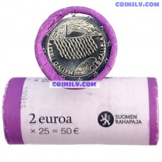 Finland 2015 roll 2 Euro - Akseli Gallen-Kallela (X25 coins)