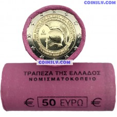 Greece 2 Euro roll 2020 - 2.500th anniversary of the Battle of Thermopylae (X25 coins)