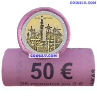 *PRESALE* Lithuania 2 Euro roll (x25 coins) 2020 - Hill of Crosses