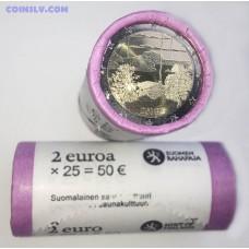 Finland 2 Euro roll 2018 - Finnish sauna culture (X25 coins)