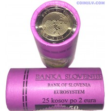 Slovenia 2 euro roll 2018 - Slovenia World Day of Bees (X25 coins)