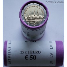 "Latvia 2014 roll 2 euro ""Riga — European Capital of Culture 2014"" (X25 coins)"