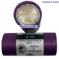 Malta 2 Euro roll 2019 - Nature and Environment (X25 coins)