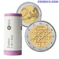 * PRESALE* Finland 2 Euro roll 2020 - 100th anniversary of the University of Turku (X25 coins)