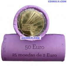 Portugal 2 Euro roll 2021 - Portuguese Presidency of the Council of the European Union (X25 coins)
