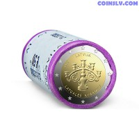 Latvia 2 Euro roll 2020 - Latgalian Ceramics (X25 coins)