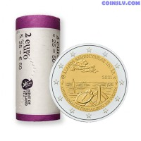 *PRESALE OFFER!* Finland 2 Euro roll 2021 - 100th anniversary of self-government in the Åland Islands (X25 coins)