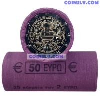 Greece 2 Euro roll 2021 - 200 years since the Greek Revolution (X25 coins)