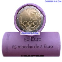 Portugal 2 Euro roll 2021 - Olympic Games — Tokyo (X25 coins)