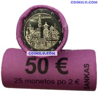 Lithuania 2 Euro roll (x25 coins) 2020 - Hill of Crosses