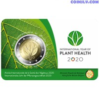 2 Euro Belgium 2020 - International Year of Plant Health 2020 (IYPH 2020) French version