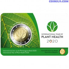 2 Euro Belgium 2020 - International Year of Plant Health 2020 (IYPH 2020) Dutch version