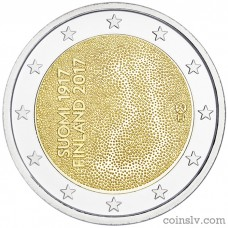"2 Euro Finland 2017 ""Independent Finland 100 years"""