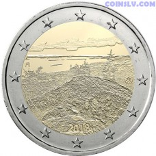 2 Euro Finland 2018 - Finnish national landscape Koli