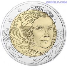 2 Euro France 2018 - Simone Veil