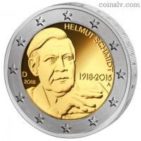 2 Euro Germany 2018 - Helmut Schmidt (D)