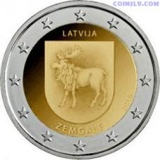 2 Euro Latvia 2018 - Zemgale
