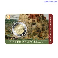 2 Euro Belgium 2019 - The 450th anniversary of the death of Pieter Bruegel the Elder
