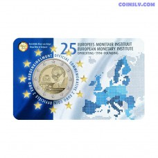 2 Euro Belgium 2019 - 25th anniversary of the European Monetary Institute (EMI)
