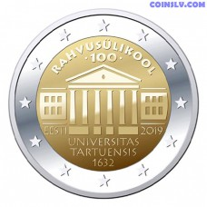 2 Euro Estonia 2019 - 100th anniversary of the University of Tartu