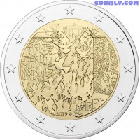 2 Euro France 2019 - 30 years of the fall of the Berlin Wall
