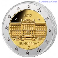 2 Euro Germany 2019 - Bundesrat (A)