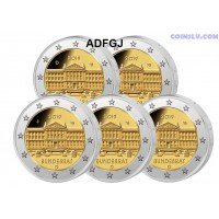 2 Euro Germany 2019 - Bundesrat (ADFGJ)