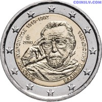 2 Euro Greece 2019 - Centenary of the birth of Manolis Andronicos