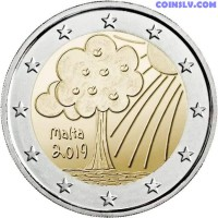 2 Euro Malta 2019 - Nature and Environment