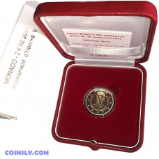 2 Euro Monaco 2019 - The 200th anniversary of the accession to the throne of Prince Honoré V