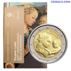 2 Euro San Marino 2019 - 550th anniversary of the death of Filippo Lippi