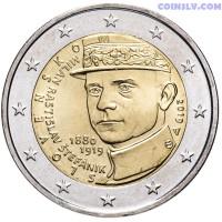"2 Euro Slovakia 2019 ""100th anniversary of the death of Milan Rastislav Štefánik"""