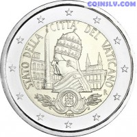 2 Euro Vatican 2019 - 90th anniversary of the foundation of the Vatican City State