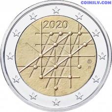 2 Euro Finland 2020 - 100th anniversary of the University of Turku