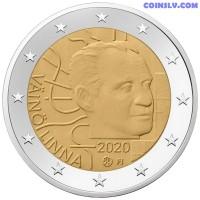 2 Euro Finland 2020 - 100th anniversary of the birth of Väinö Linna