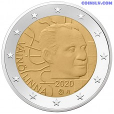 2 Euro Finland 2020 - 100th anniversary of the birth of Väinö Linna