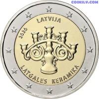 2 Euro Latvia 2020 - Latgalian Ceramics