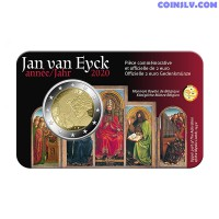 2 Euro Belgium 2020 - Jan van Eyck (FR version coincard)