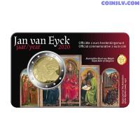 2 Euro Belgium 2020 - Jan van Eyck (NL version coincard)