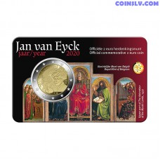 2 Euro Belgium 2020 - Jan van Eyck (NL version coincard)