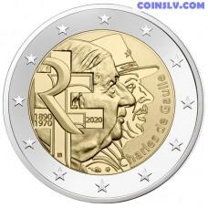 2 Euro France 2020 - Charles de Gaulle