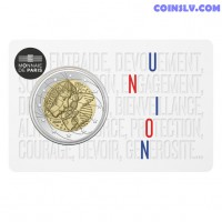 2 Euro France 2020 - Medical Research (Coincard Union)