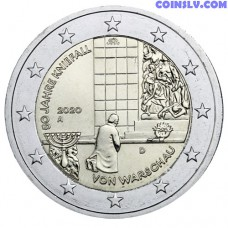 2 Euro Germany 2020 - 50 years of the Warsaw genuflection (A)