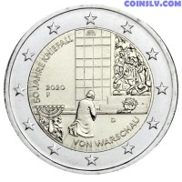 2 Euro Germany 2020 - 50 years of the Warsaw genuflection (F)