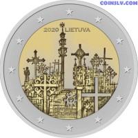 2 Euro Lithuania 2020 - Hill of Crosses