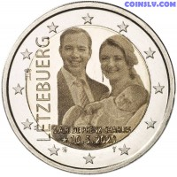 2 Euro Luxembourg 2020 - The birth of Prince Charles (foto)