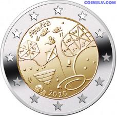2 Euro Malta 2020 - Children's Games